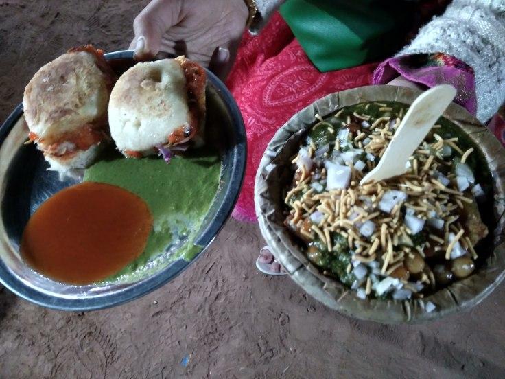 Chat of Gwalior Chowpaty