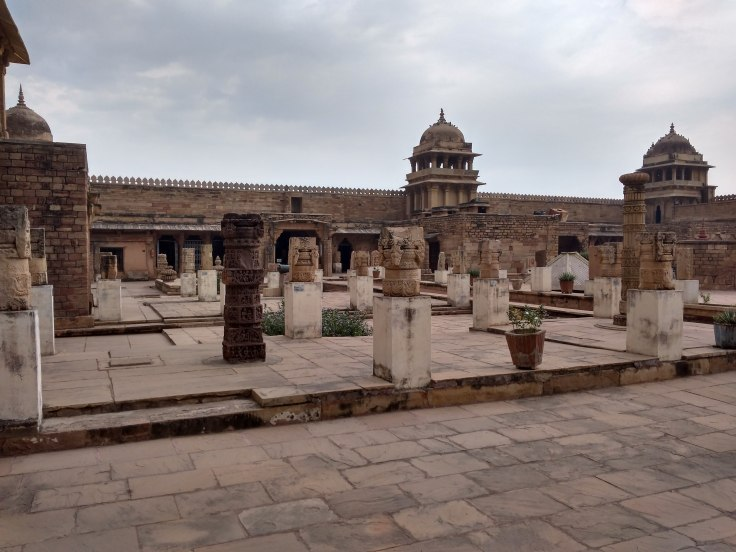 Heritage site in Gwalior