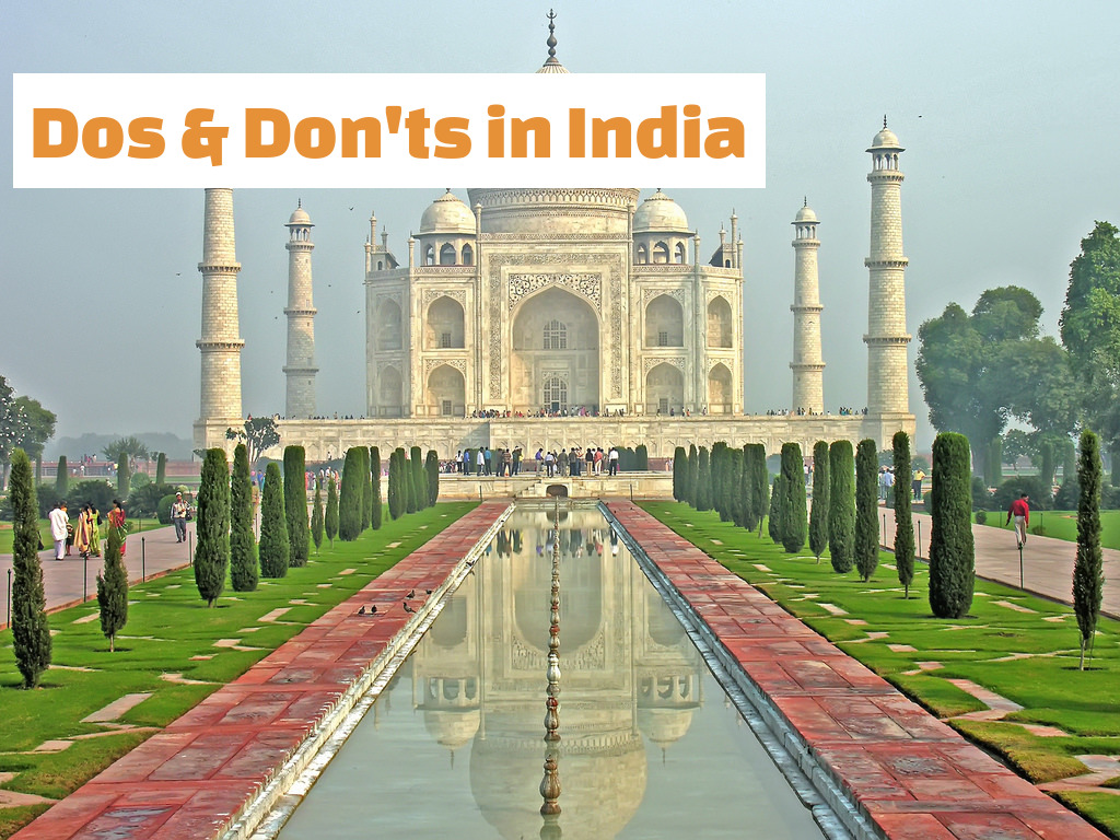 Dos and Don'ts in India
