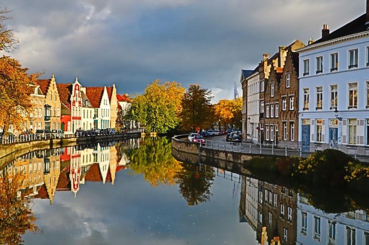 City of Bruges in Belgium