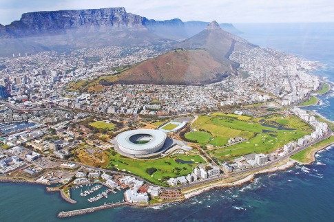 Cape Town in South Africa images