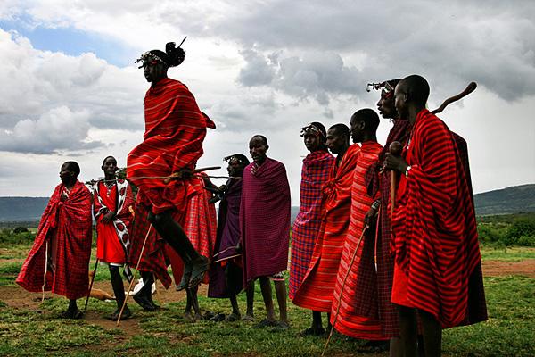 Masai Tribe in Africa