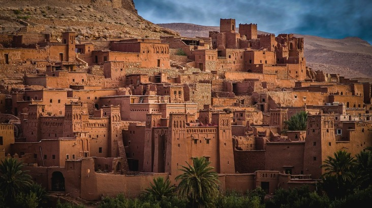 Houses in Morocco in Africa