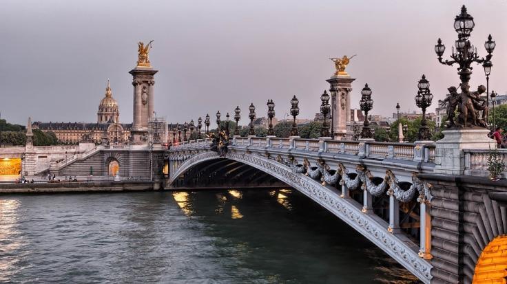 Pont Alexander Iii Bridge in Paris